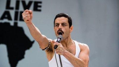 Rami Malek's 'Bohemian Rhapsody' Live Aid Performance (Matched with Actual Queen Concert Footage)