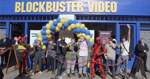 New Blockbuster Video Pops Up in London, But It Only Carries