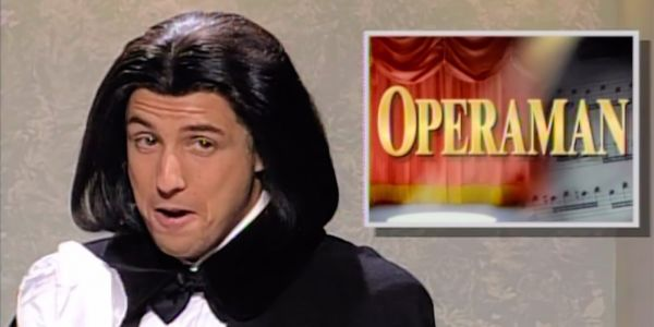 Adam Sandler's Opera Man Returns to SNL Weekend Update After 24-Year Absence