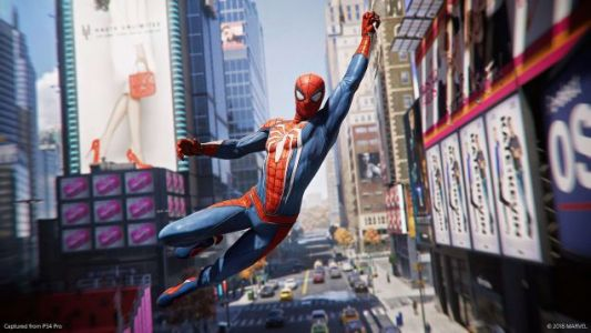 WATCH: The PS4's New SPIDER-MAN Game Looks Spectacular