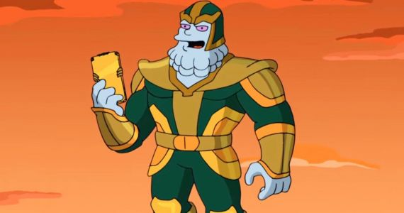 The Simpsons Turns Marvel's Kevin Feige Into the New Thanos