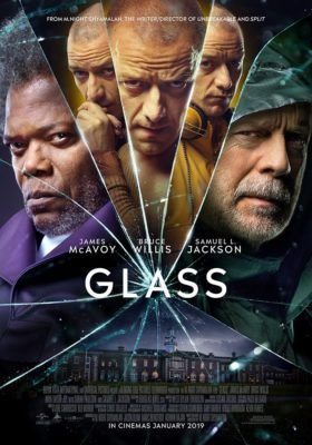 New series of Posters for M. Night Shyamalan's Glass