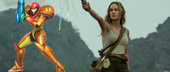 Brie Larson Dressed as Samus For Halloween, Wants to Make 'Metroid' Movie