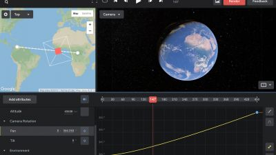 Create Beautiful and Realistic Animations with Google Earth Studio
