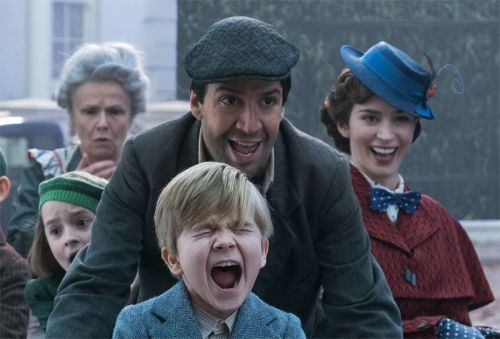 New Mary Poppins Returns Photo With Blunt & Miranda