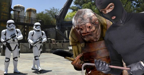 Star Wars: Galaxy's Edge Thieves Steal Anything Not Locked Down to Sell Online