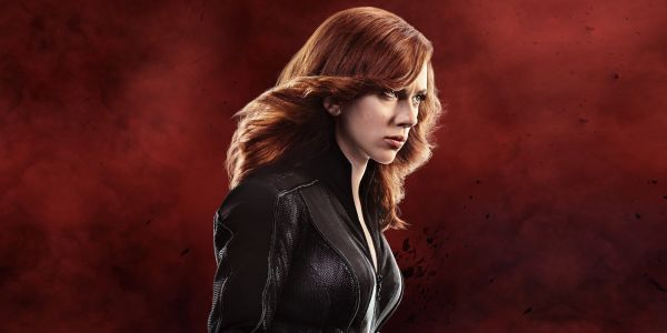 New Black Widow Costume & Red Guardian Mask Revealed In D23 Poster