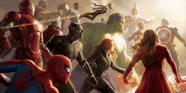 Marvel's D23 Artwork Spotlights The Wasp & Infinity War