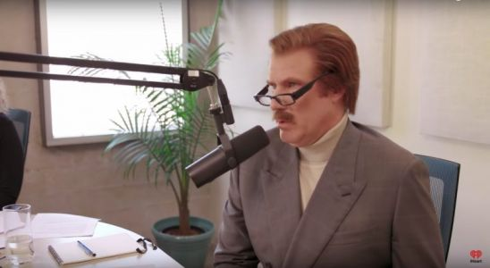 Trailer for The Ron Burgundy Podcast Asks the Tough Questions