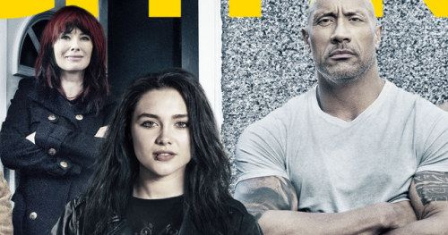 Fighting with My Family Poster Has The Rock & Paige Ready to