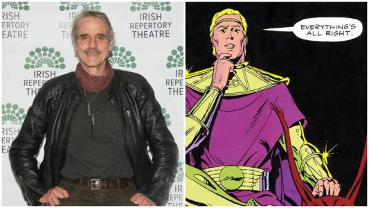 Jeremy Irons Playing Older Ozymandias in HBO's Watchmen