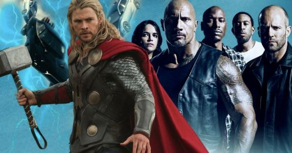 The Rock Wants a Thor Vs. Fast and Furious Crossover