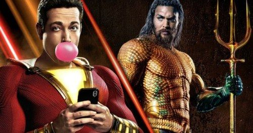 Shazam! Sneak Peeks Outgross Aquaman Early ScreeningsDavid F
