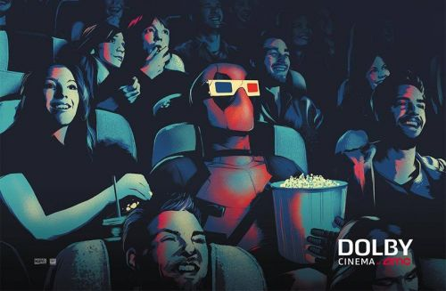 Dolby Cinema Unleashes New Deadpool 2 Artwork