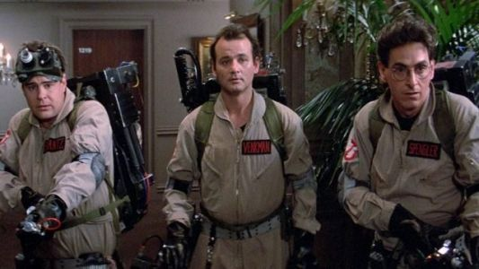 Collins' Crypt: Who You Gonna Read? GHOSTBUSTERS!