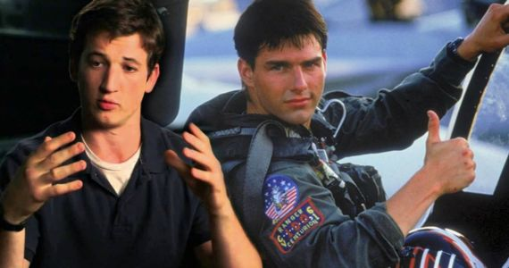 Miles Teller Talks Top Gun 2 and Trying to Keep Up with Tom Cruise