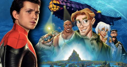 Tom Holland Wanted for Disney's Atlantis Live-Action