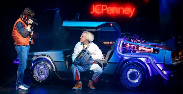 'Back to the Future: The Musical' Photos Reveal the DeLorean on Stage, Dancing Doc Browns & More