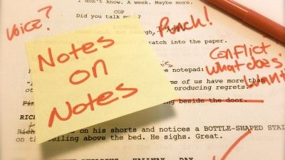 Here's How You Should Give Script Notes