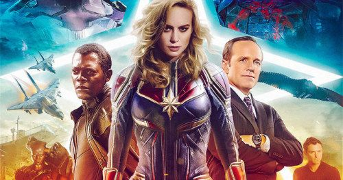 Captain Marvel Reshoot Photos Show Brie Larson Going Back to