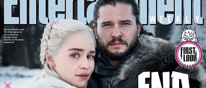 GAME OF THRONES Season 8: First Look At Jon Snow And Daenerys Targaryen On New EW Cover