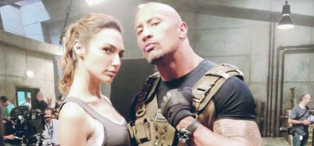 Gal Gadot Teaming Up with Dwayne Johnson for Action Comedy 'Red Notice'