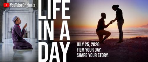 Ridley Scott and Kevin Macdonald Want Your Quarantine Videos for YouTube's 'Life in a Day 2020'