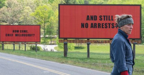 Three Billboards From Florida To England: Movie's Protest Tactic Spreads