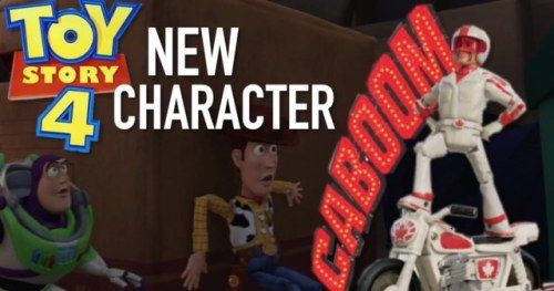 New Toy Story 4 Merch Reveals Keanu Reeves as Duke CaboomThe