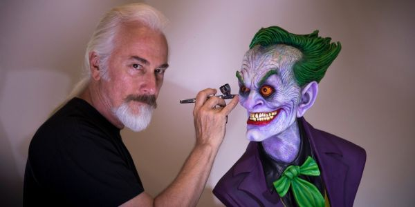 Exclusive: How Rick Baker's The Joker Bust Was Crafted