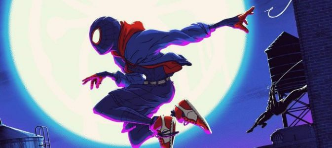 Cool Stuff: Matt Ferguson & Florey's 'Spider-Man: Into the Spider-Verse' Print Takes a Leap of Faith