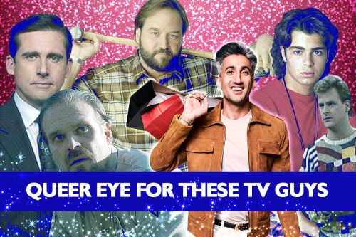 'Queer Eye's' Tan France Gives Style Tips To TV Icons