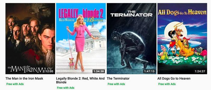 YouTube Offering 'The Terminator', 'Rocky' and Dozens More Movies For Free