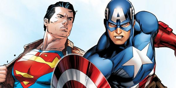 Fan Art Recasts Chris Evans as Superman & Henry Cavill as Captain America