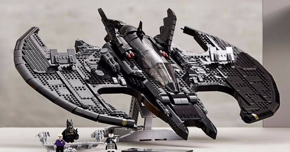 Lego Unveils 1989 Batwing Set in Celebration of Batman Day