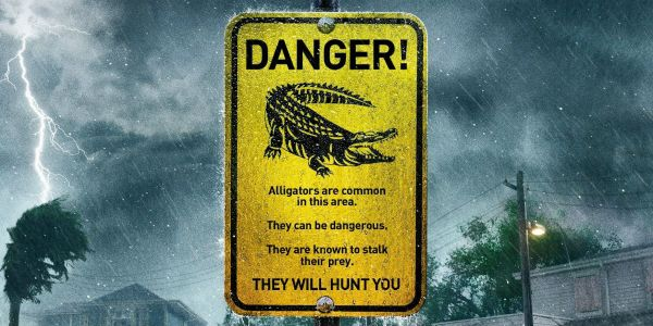 International Poster for Alligator Horror Movie Crawl is Pure Nightmare Fuel