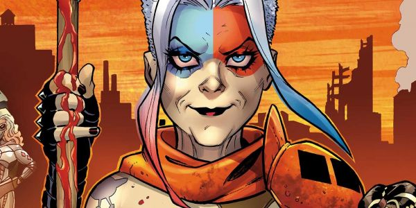 "Harley Quinn Channels Wolverine in ""Old Woman Harley"""