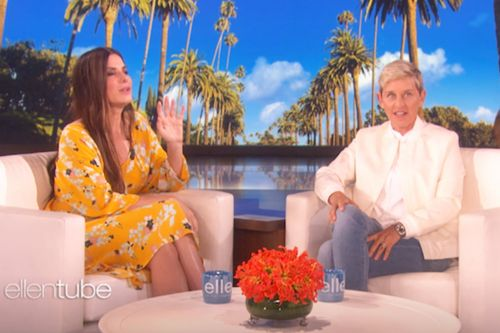 Sandra Bullock Explaining Penis Facials To Ellen Is. Kind of Adorable?