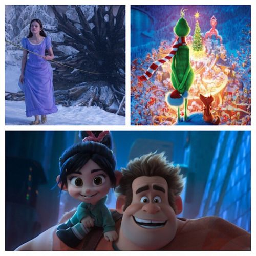 Ralph Breaks The Internet, The Nutcracker And The Four Realms & The Grinch Movie Reviews