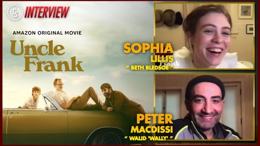 CS Video: Uncle Frank Interview With Sophia Lillis & Peter Macdissi