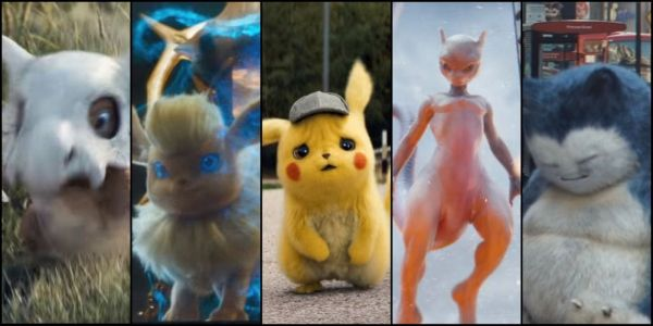 Every Live-Action Pokémon In The New Detective Pikachu Trailer
