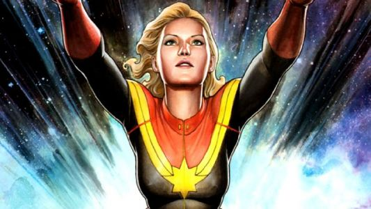New Captain Marvel Set Photos are a Blast from the Past
