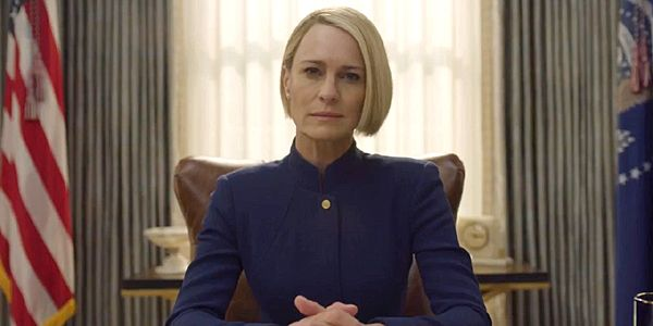 House Of Cards Erects Real-Life Claire Underwood Statue That Gives Away Major Spoiler