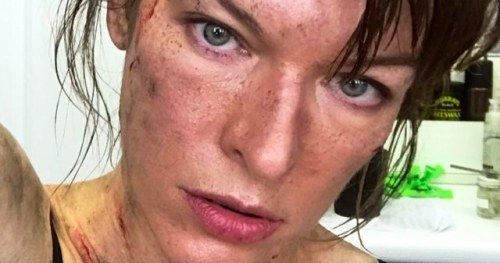 First Monster Hunter Photos Shared by Milla Jovovich as Shooting