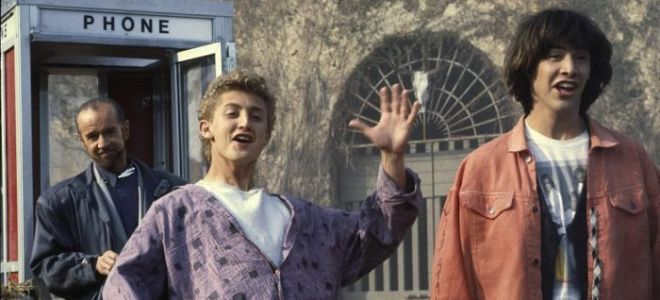The Original Script Pages for 'Bill and Ted's Excellent Adventure' Have a Surprisingly Emotional Origin