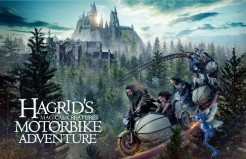 Watch Our Footage From 'Hagrid's Magical Creatures Motorbike Adventure', the Best 'Harry Potter' Ride Yet