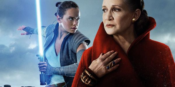 Star Wars Comic Delivers Rey & Leia's Missing Scene | Screen Rant
