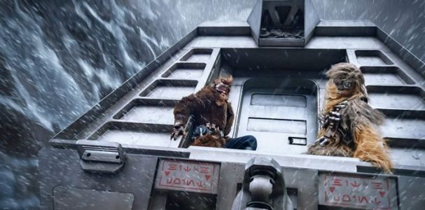 New 'Solo: A Star Wars Story' Images Reveal Details About Paul Bettany's Villain, the Vandor Heist, and More