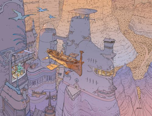 Moebius Gives 18 Wisdom-Filled Tips to Aspiring Artists