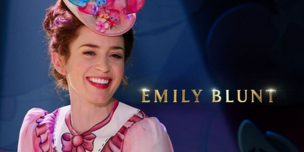 Mary Poppins Returns Set Visit: Emily Blunt Interview